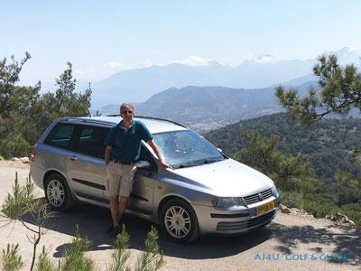 your private tour guide AJ is on Crete also known as Mr. Routaki