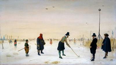 de eerste afbeeldingen van golf met de desbetreffende golfkleding