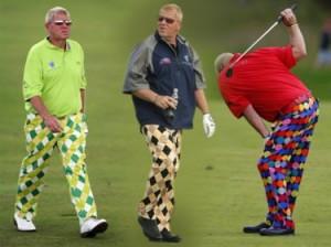 John Dailye in zijn tenue - kledingvoorschriften in golf - goed of fout, dat is de vraag