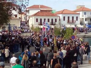 every year there is a parade in Pylos