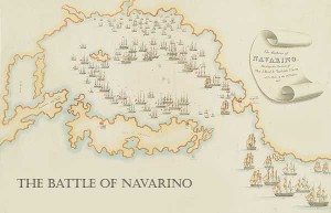 the area where the battle of navarino took place